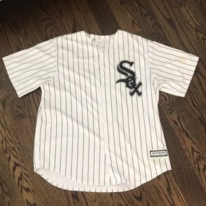 Todd Frazier White Sox Majestic Authentic Jersey